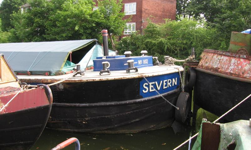 Severn - starboard bow