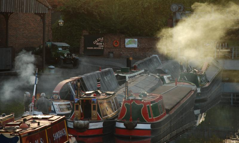 Photo Comp 2012 entry: Saturn and friends at the Black Country Living Museum