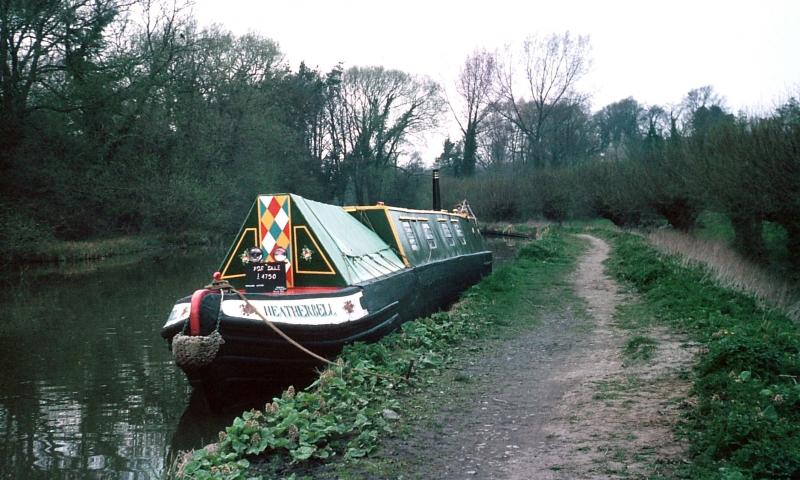 At Thrupp on the Oxford Canal 1976