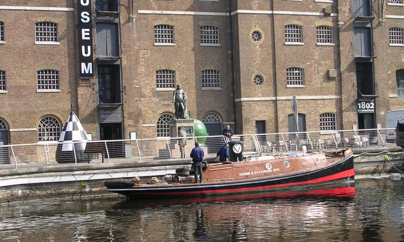 Varlet at the Museum in Docklands, West India Dock
