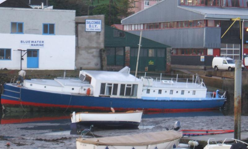Hospital Boat No. 67 - port side