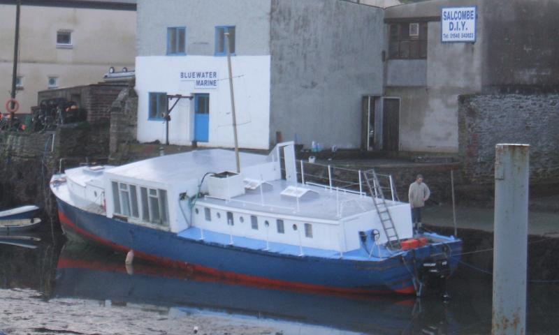 Hospital Boat No 67 - port quarter looking forwards