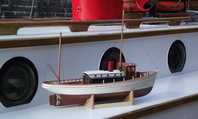 model on mother ship