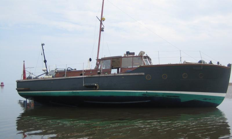 CONSERVANCY starboard side view, August 2009