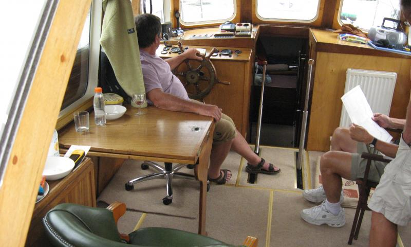 wheelhouse interior