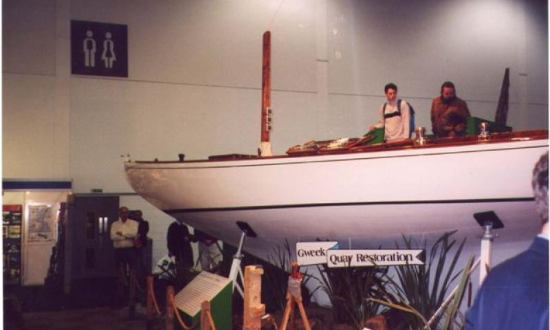 Dilkusha - at the boat show in 2004