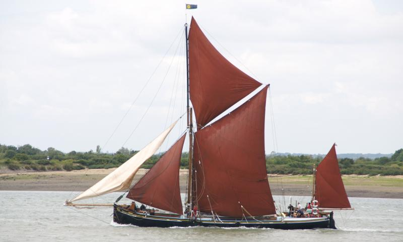 Mirosa - port side view, underway, Essex.