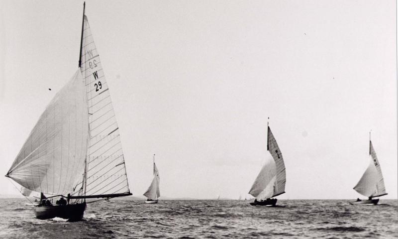 Racing at Cowes IOW
