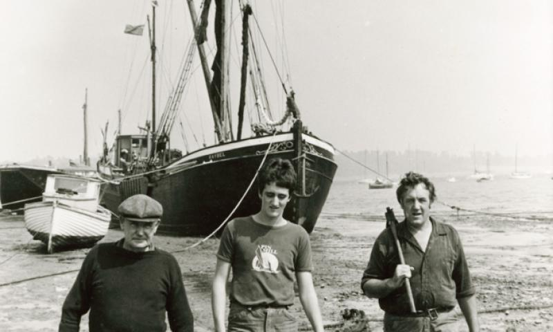 Raybel with Reuben Johnathon and Fred Webb - Pin Mill
