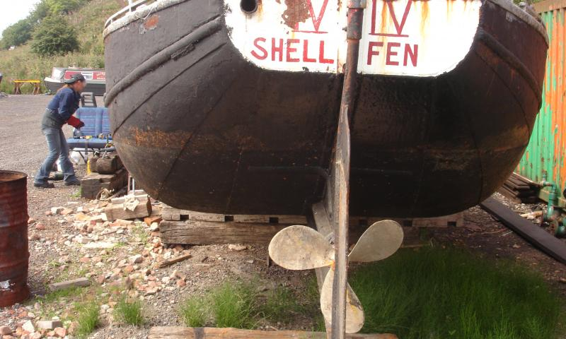 Shellfen stern facing