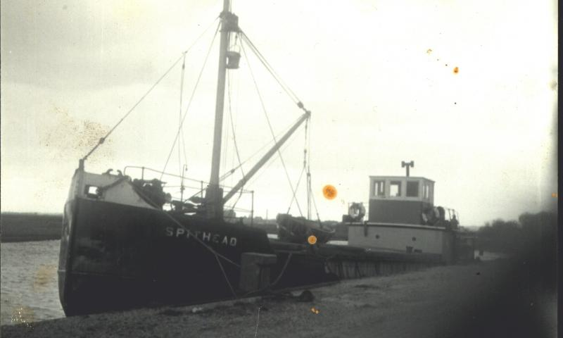 SPITHEAD starboard side. Image from 1950s.