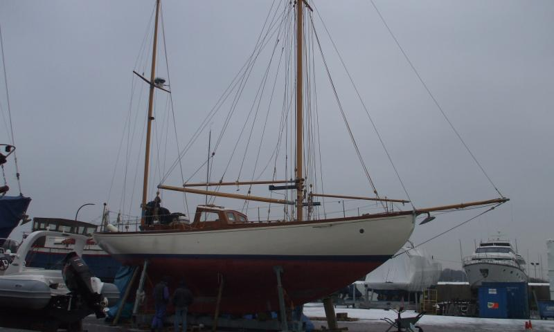MAYBIRD starboard side view