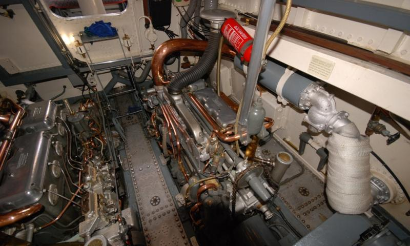 view of engine room