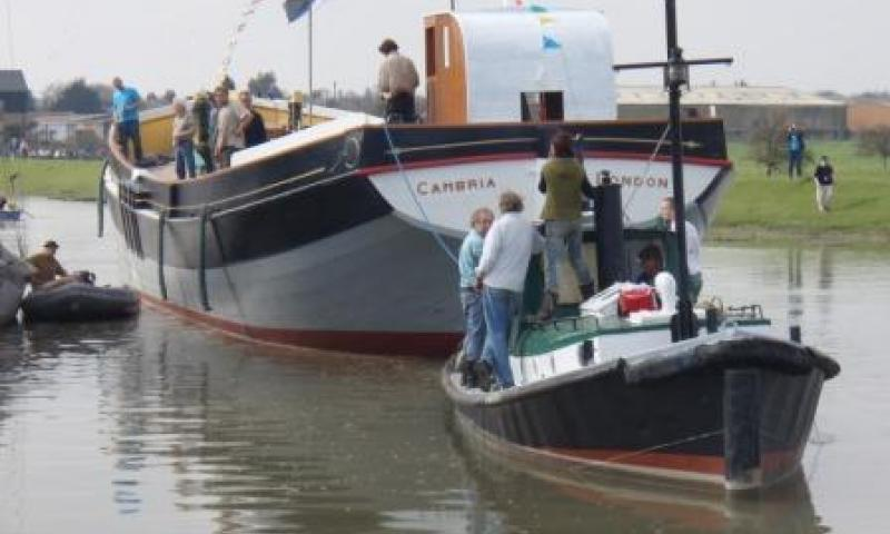 Cambria - underway following relaunch