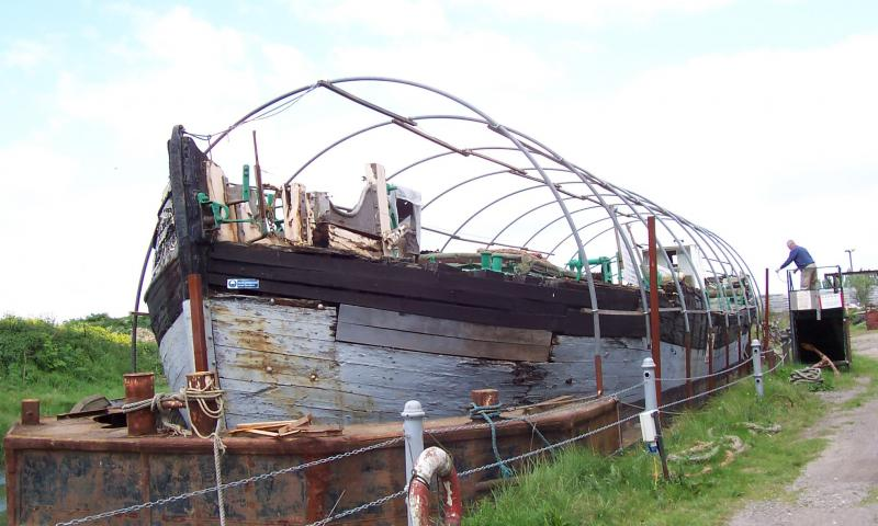 Cambria waiting for restoration