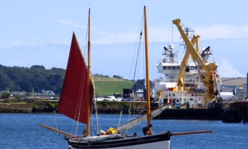 Gladys in Falmouth Harbour, August 2015