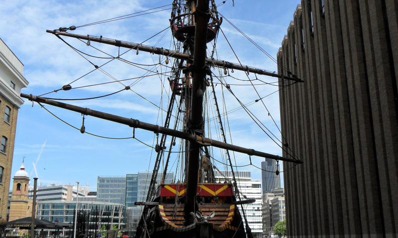Photo Comp 2012 entry: The Golden Hinde