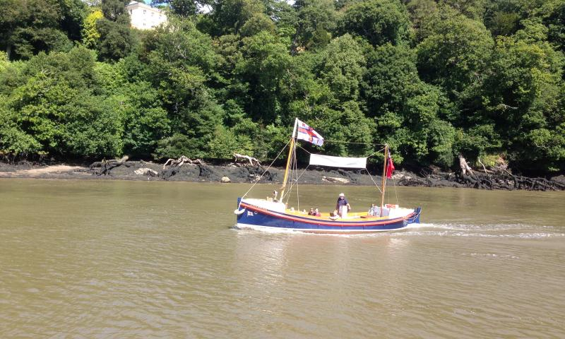 Henry Finlay - on the River Dart