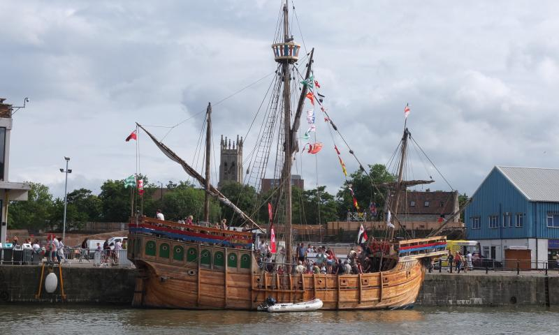 The Matthew - at Bristol Harbour Festival