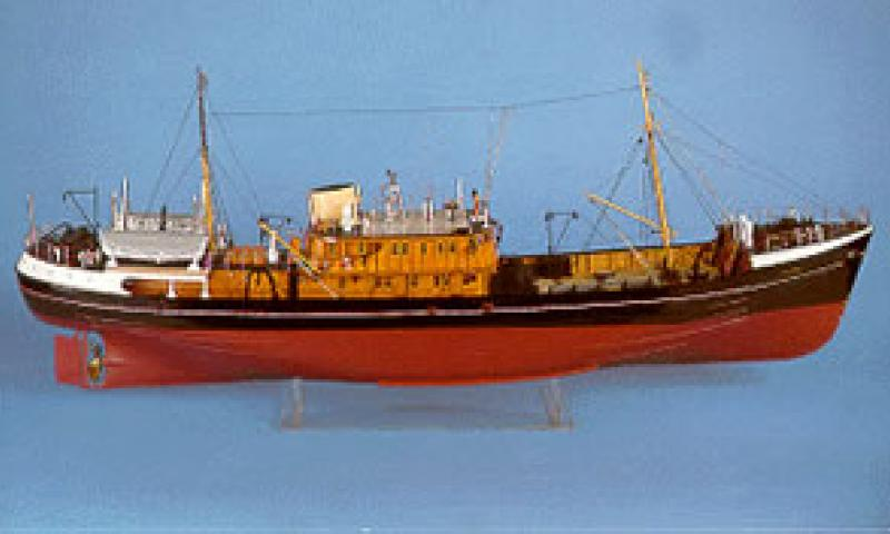 EXPLORER - model in Aberdeen Maritime Museum Collection.