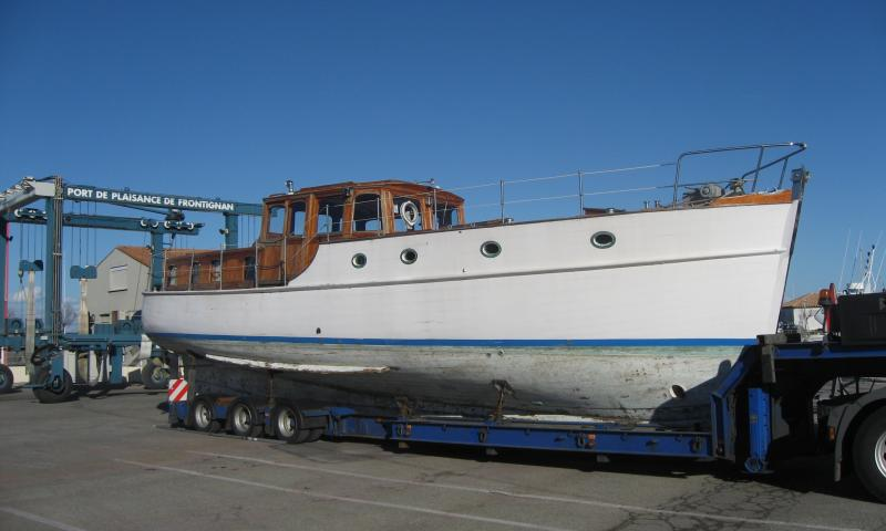 starboard side view