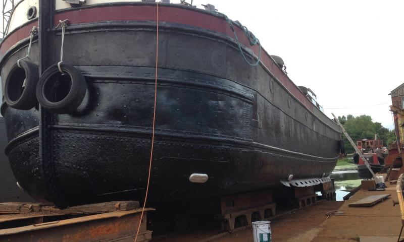 Stern view starboard side