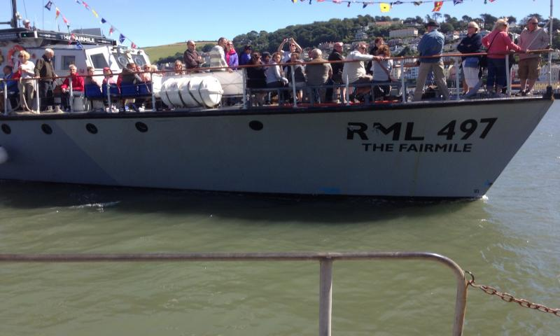 RML497/The Fairmile - on the River Dart