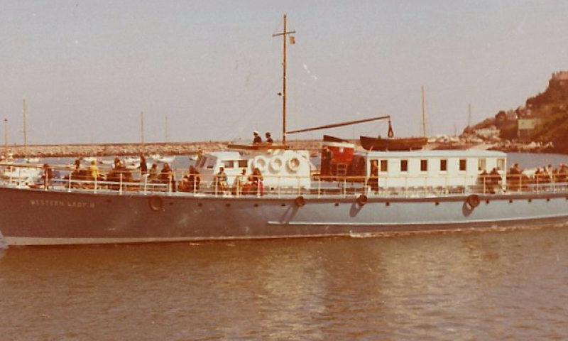 Western Lady IV taken in early 1974. see Roy Kennedy's email on file for further details.