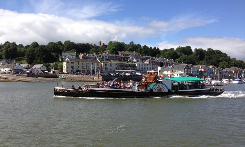 Kingswear Castle - on River Dart