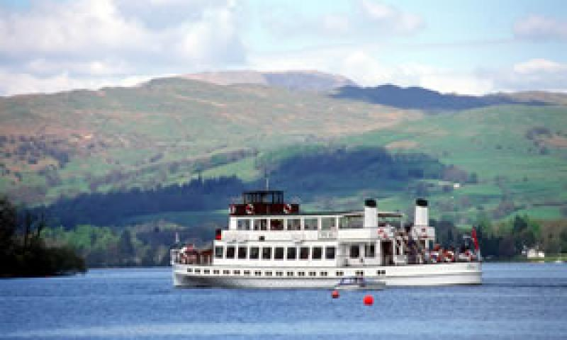 TEAL - arriving at Bowness on Lake Windermere.