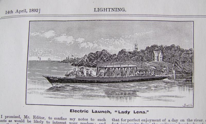 Image of Lady Lena  in 1892