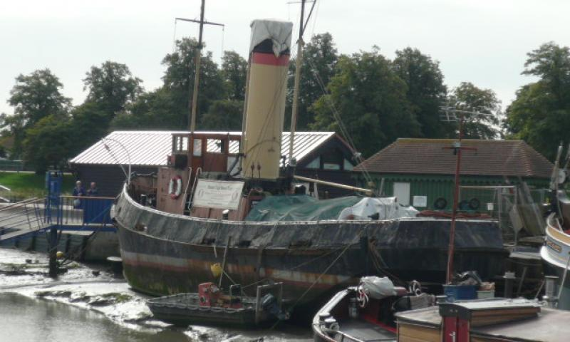 Brent - port side view