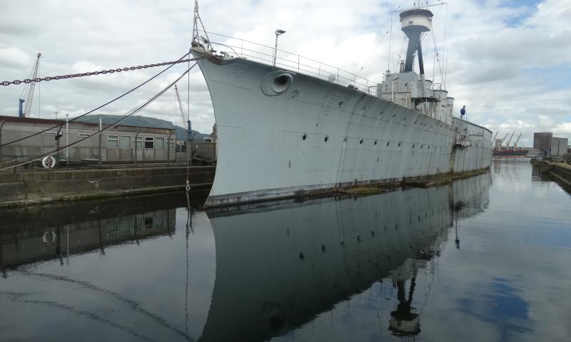 HMS Caroline, Photo comp entry 2014