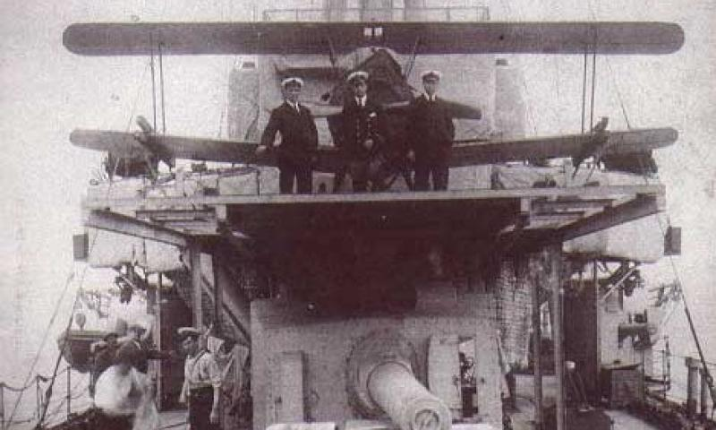 HMS Caroline's officers