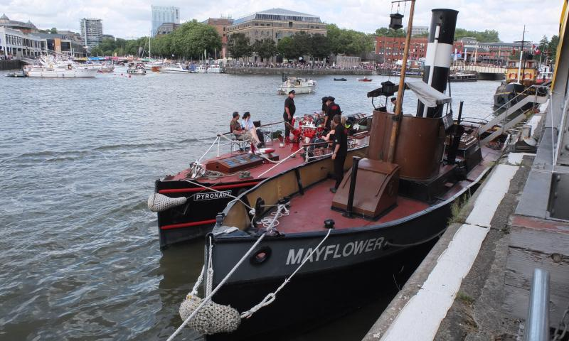 Mayflower - at Bristol Harbour Festival