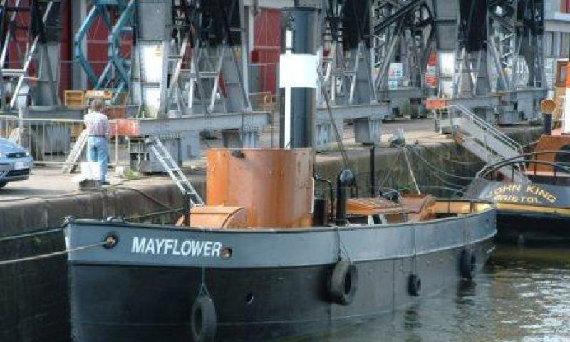Mayflower - port view