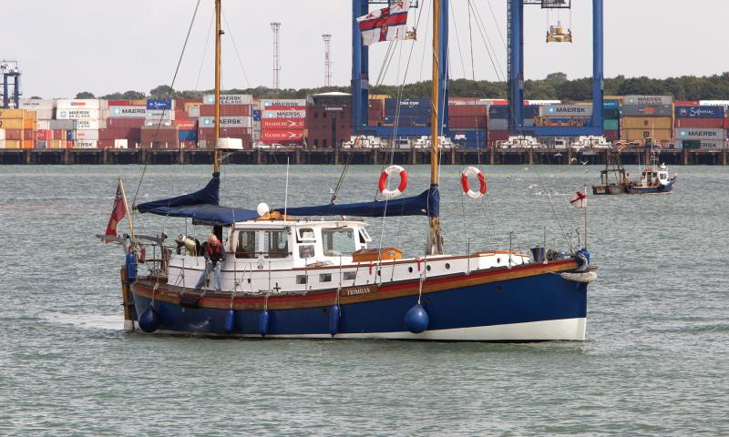 Trimilia - Harwich Harbour