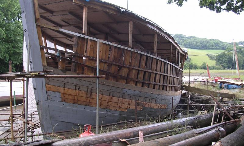 Irene being rebuilt