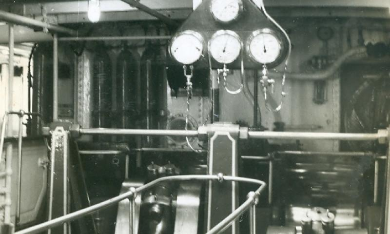 Engine Room c1963
