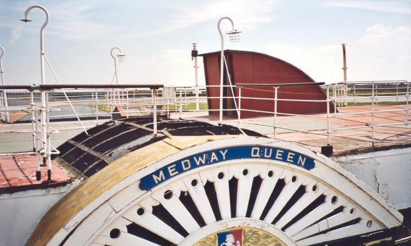 Medway Queen - paddle wheel