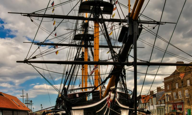 Photo Comp 2012 entry: HMS Trincomalee