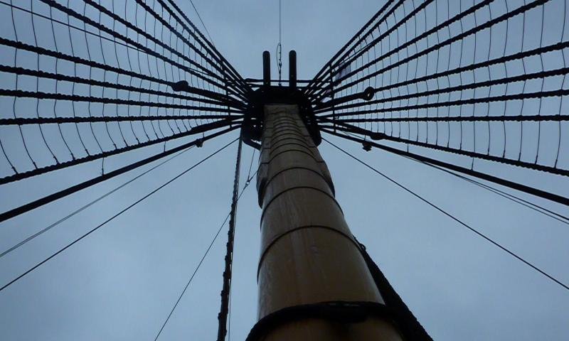 Photo Comp 2012 entry: HMS Victory - centre mast rigging