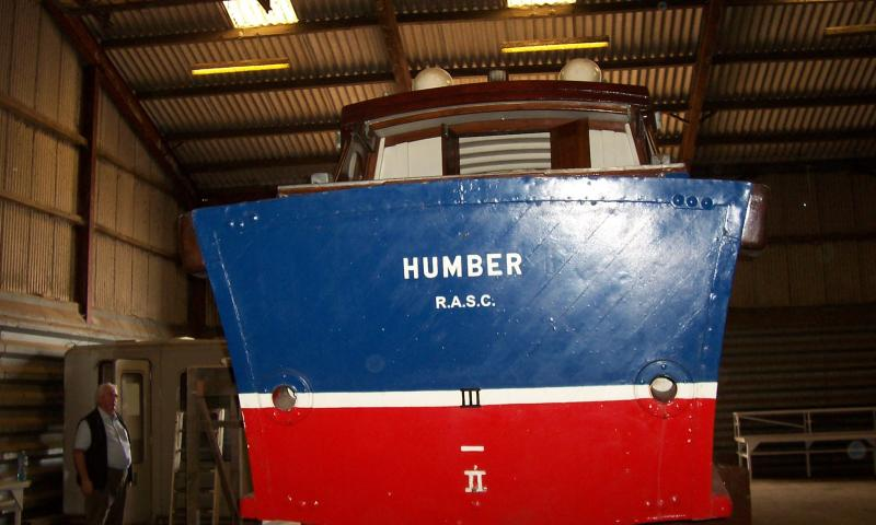 Humber - stern view
