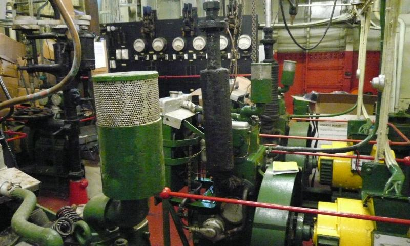 North Carr engine room