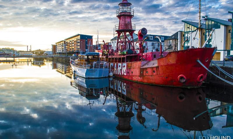 NHS-UK 2013 Photo Comp: Jamie Whyte - NORTH CARR lightship