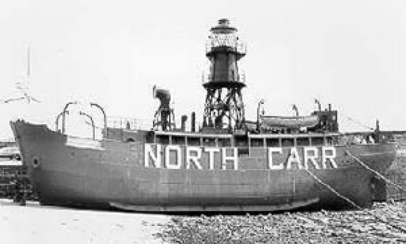 NORTH CARR at Anstruther pre 1992. Port side.