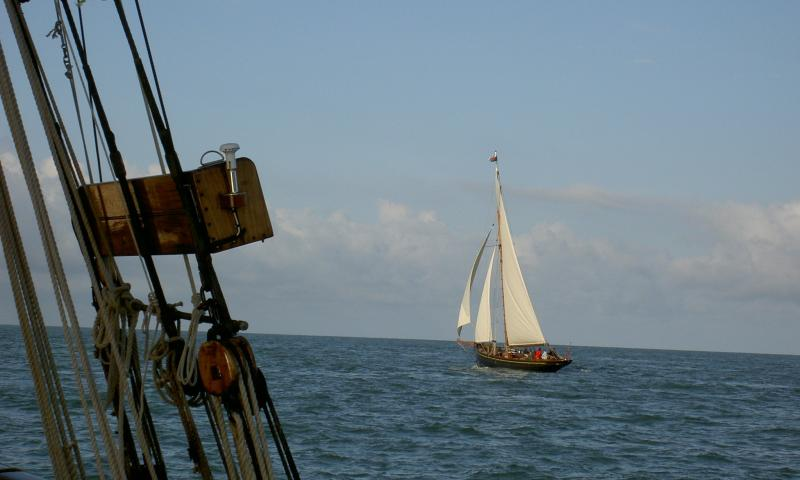 Olga in the Bristol Channel