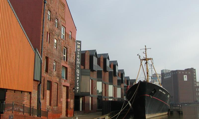 Arctic Corsair docked in Hull