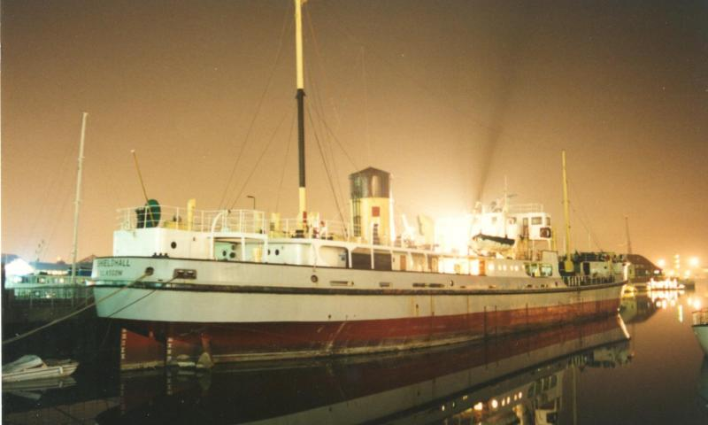 Shieldhall - starboard quarter looking forwards