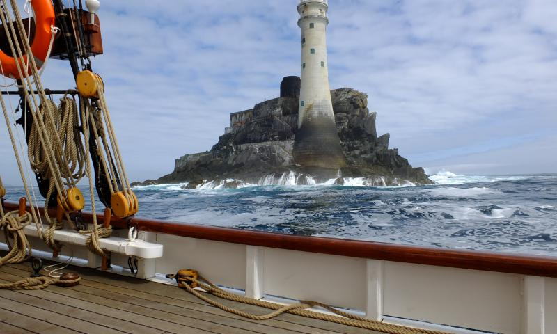Photo Comp 2012 entry: the Fastnet Rock from Mascotte
